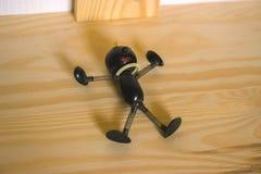 Κούκλα Pinocchio σιδήρου στοκ φωτογραφία