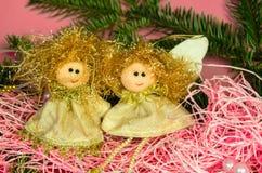 Κούκλες αγγέλου Στοκ εικόνα με δικαίωμα ελεύθερης χρήσης