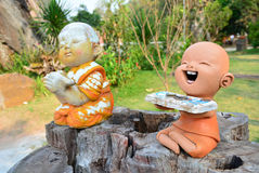 Κούκλες αργίλου Απεικόνιση αποθεμάτων