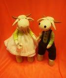 Κούκλες γάμου Στοκ φωτογραφία με δικαίωμα ελεύθερης χρήσης