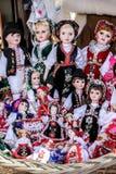 Κούκλες για την πώληση Στοκ Φωτογραφίες