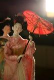 κούκλες ιαπωνικά Στοκ Εικόνα