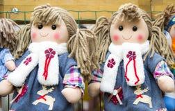 Κούκλες κουρελιών Στοκ Φωτογραφία