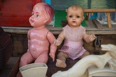 κούκλες παλαιές Στοκ φωτογραφία με δικαίωμα ελεύθερης χρήσης