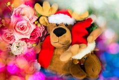 Κούκλες ταράνδων ζεύγους Στοκ εικόνες με δικαίωμα ελεύθερης χρήσης