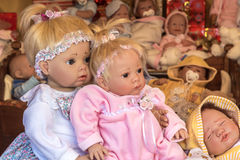 Κούκλες Στοκ φωτογραφίες με δικαίωμα ελεύθερης χρήσης