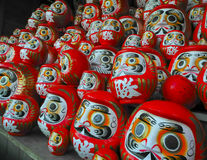 Κούκλες Daruma στοκ φωτογραφίες με δικαίωμα ελεύθερης χρήσης