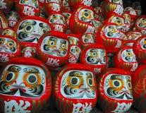 Κούκλες Daruma στοκ εικόνα με δικαίωμα ελεύθερης χρήσης