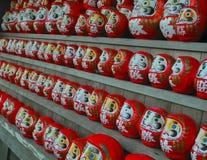 Κούκλες Daruma στοκ φωτογραφία με δικαίωμα ελεύθερης χρήσης