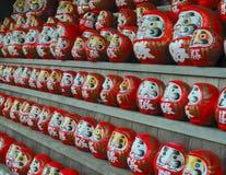 Κούκλες Daruma στοκ φωτογραφία