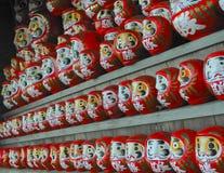 Κούκλες Daruma στοκ φωτογραφίες