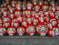 Κούκλες Daruma στοκ εικόνες