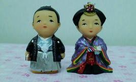 Κούκλες Kokeshi στοκ φωτογραφία με δικαίωμα ελεύθερης χρήσης