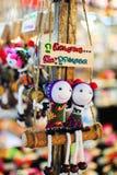Κούκλες Mong Στοκ εικόνα με δικαίωμα ελεύθερης χρήσης