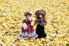 Κούκλες Porcalain Στοκ φωτογραφία με δικαίωμα ελεύθερης χρήσης