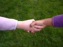 κούνημα χεριών ποικιλομ&omicron Στοκ εικόνες με δικαίωμα ελεύθερης χρήσης