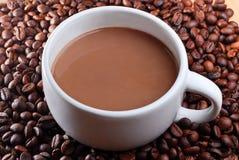 Κούπα και καφές Στοκ εικόνες με δικαίωμα ελεύθερης χρήσης