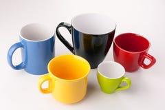 Κούπα πέντε χρώματος Στοκ Φωτογραφίες