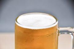 Κούπα της μπύρας στο άσπρο υπόβαθρο Στοκ φωτογραφίες με δικαίωμα ελεύθερης χρήσης