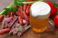 Κούπα της μπύρας στοκ εικόνα