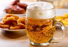 Κούπα της μπύρας Στοκ Εικόνες