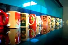 Κούπες καφέ Στοκ εικόνες με δικαίωμα ελεύθερης χρήσης