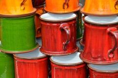 Κούπες χρώματος Στοκ φωτογραφία με δικαίωμα ελεύθερης χρήσης