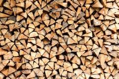 κούτσουρα που συσσωρεύονται Στοκ φωτογραφία με δικαίωμα ελεύθερης χρήσης