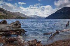 Κούτσουρο και λίμνη 02 Στοκ φωτογραφία με δικαίωμα ελεύθερης χρήσης