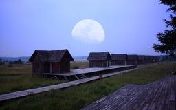 κούτσουρο καμπινών Στοκ Φωτογραφίες
