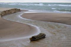 Κούτσουρο ποταμών αμμόλοφων του Warren Στοκ Φωτογραφίες