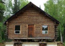 κούτσουρο σπιτιών παλαιό Στοκ Εικόνα
