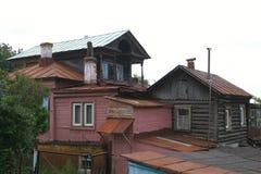 κούτσουρο σπιτιών παλαιό Στοκ φωτογραφία με δικαίωμα ελεύθερης χρήσης