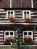 κούτσουρο σπιτιών Στοκ εικόνες με δικαίωμα ελεύθερης χρήσης