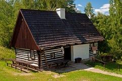 κούτσουρο σπιτιών Στοκ φωτογραφίες με δικαίωμα ελεύθερης χρήσης
