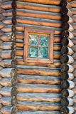 κούτσουρο σπιτιών Στοκ φωτογραφία με δικαίωμα ελεύθερης χρήσης