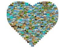 Κολάζ εικόνων του Μαυρίκιου Στοκ Εικόνες