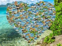 Κολάζ εικόνων του Μαυρίκιου Στοκ εικόνα με δικαίωμα ελεύθερης χρήσης