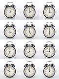 Κολάζ ξυπνητηριών Στοκ Φωτογραφίες