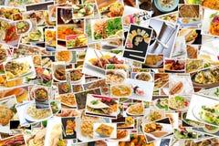 Κολάζ παγκόσμιας κουζίνας Στοκ φωτογραφία με δικαίωμα ελεύθερης χρήσης