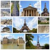 Κολάζ του Παρισιού Στοκ Φωτογραφίες