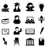 Κολλέγιο και τριτοβάθμια εκπαίδευση απεικόνιση αποθεμάτων