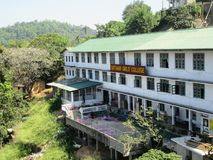 Κολλέγιο κοριτσιών Gotham σε Kandy/Σρι Λάνκα Στοκ Φωτογραφίες