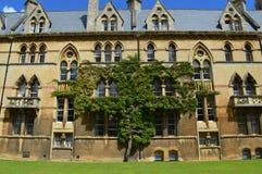 κολλέγιο Οξφόρδη εκκλησιών Χριστού Στοκ Εικόνες