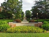Κολλέγιο Roanoke Στοκ εικόνα με δικαίωμα ελεύθερης χρήσης