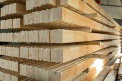 Κολλημένες ακτίνες ξυλείας Στοκ Φωτογραφίες