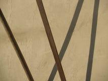 Κολλημένη και σύνθεση σκιών Στοκ φωτογραφία με δικαίωμα ελεύθερης χρήσης