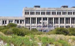 Κολλημένος: Εγκαταλειμμένος σταθμός παραγωγής ηλεκτρικού ρεύματος σε Fremantle, δυτική Αυστραλία Στοκ Εικόνες