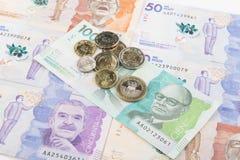 κολομβιανά χρήματα Στοκ Εικόνα