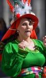 κολομβιανή γυναίκα Στοκ Φωτογραφίες
